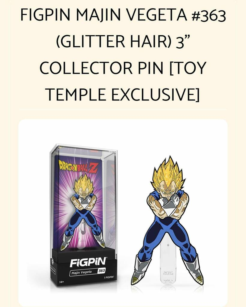 Available Now: Toy Temple Exclusive FiGPiN - Majin Vegeta (Glitter Hair) .  https:// ift.tt/3cqzokO      . Link in bio!  https:// instagr.am/p/CA6WuNDhT4q/     <br>http://pic.twitter.com/XhoraPOV1i