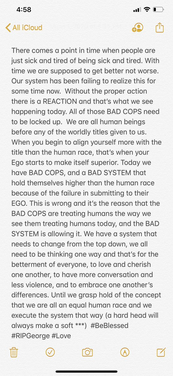 I couldn't hold it in because it was turning into anger, so here's what's on my mind.