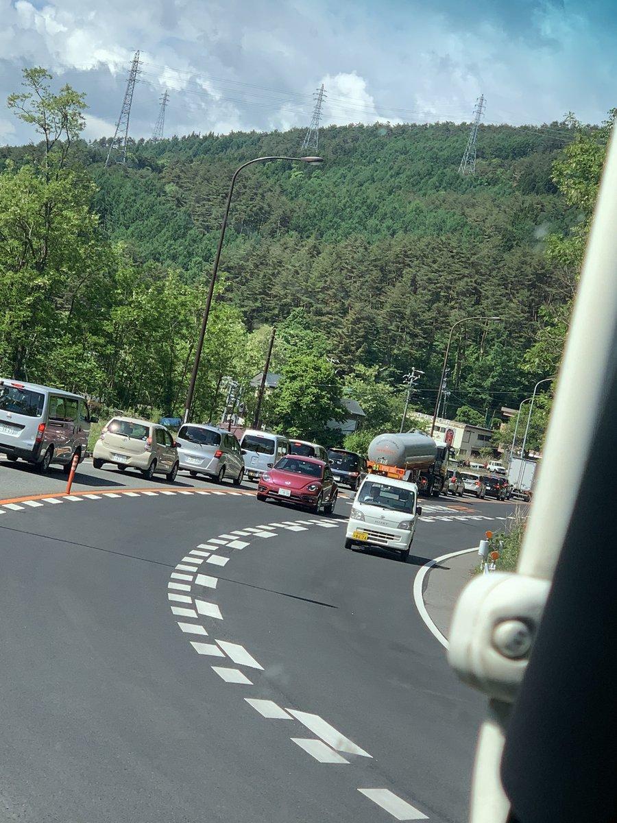 国道20号 渋滞