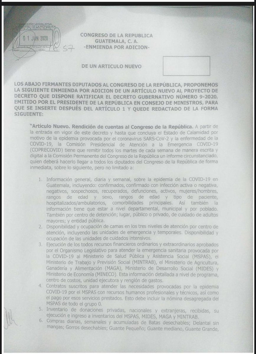 test Twitter Media - Diputados aprueban enmienda para que el Ejecutivo informe semanalmente al Congreso de las acciones realizadas durante el Estado de Calamidad. https://t.co/ycJtrb7aEj