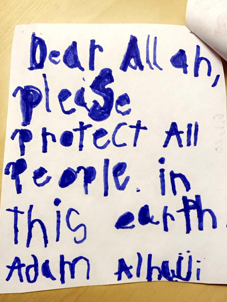 Adam had an urgent letter…