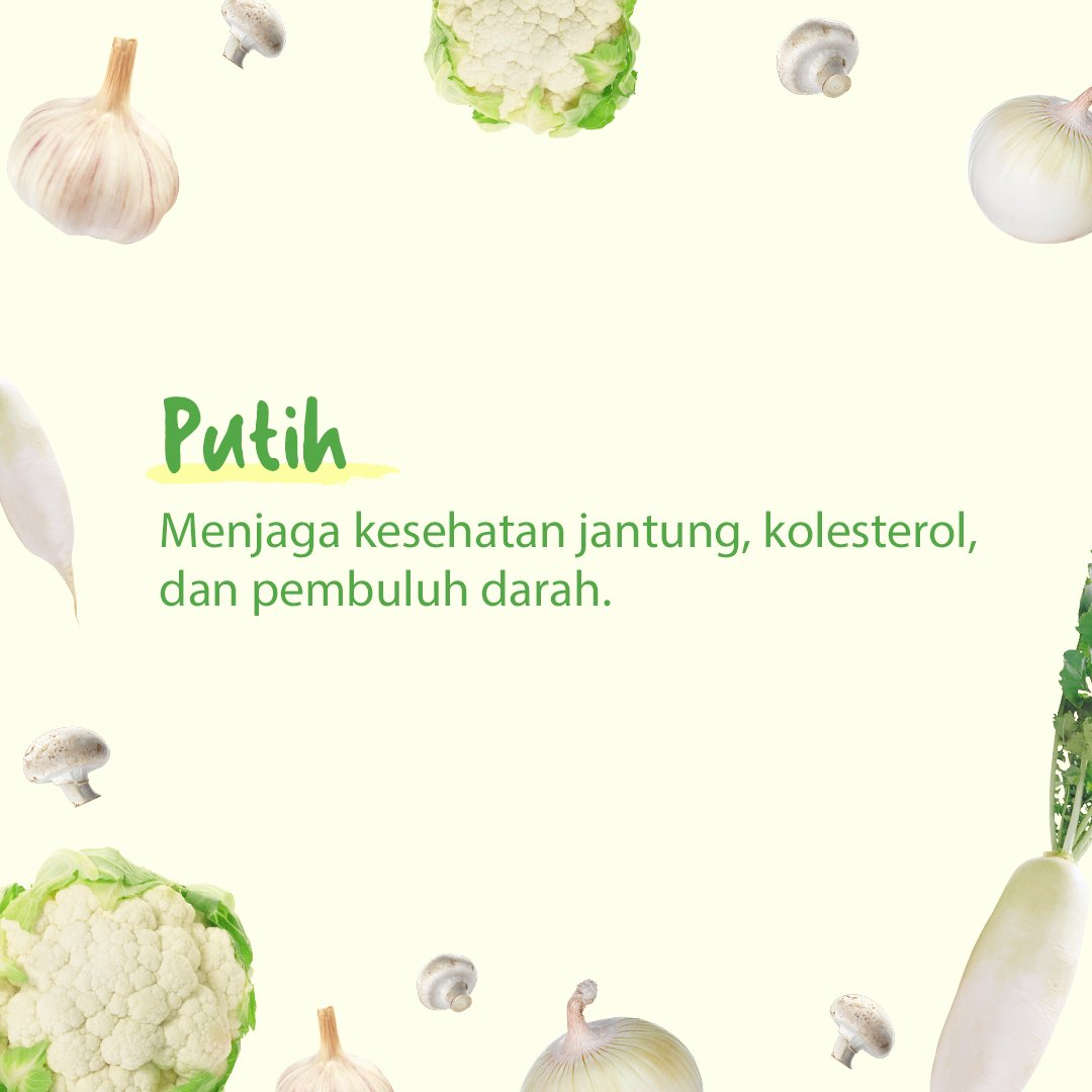 Si putih #EatTheRainbow https://t.co/jLYj78QOm5