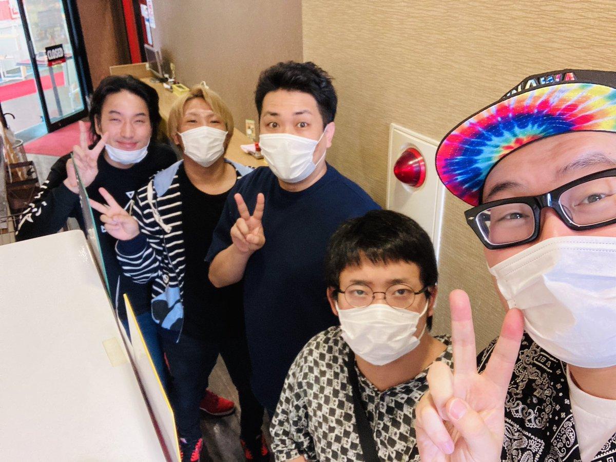 kimonoちゃん、なあぼう、ぽんすけ、ナオキ兄さんと久々のスロ会合👍#🐸🥔🥔🐷🙍♂️