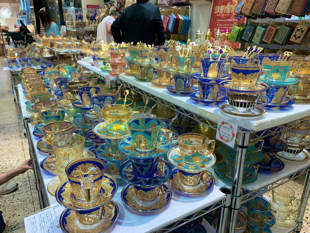 大阪に住むスカラビア寮の女はなんばマルイに来て欲しい…トルコ雑貨が売ってるからスカラビアの気分になれるぞ!!!!俺は鞄を二つ買った