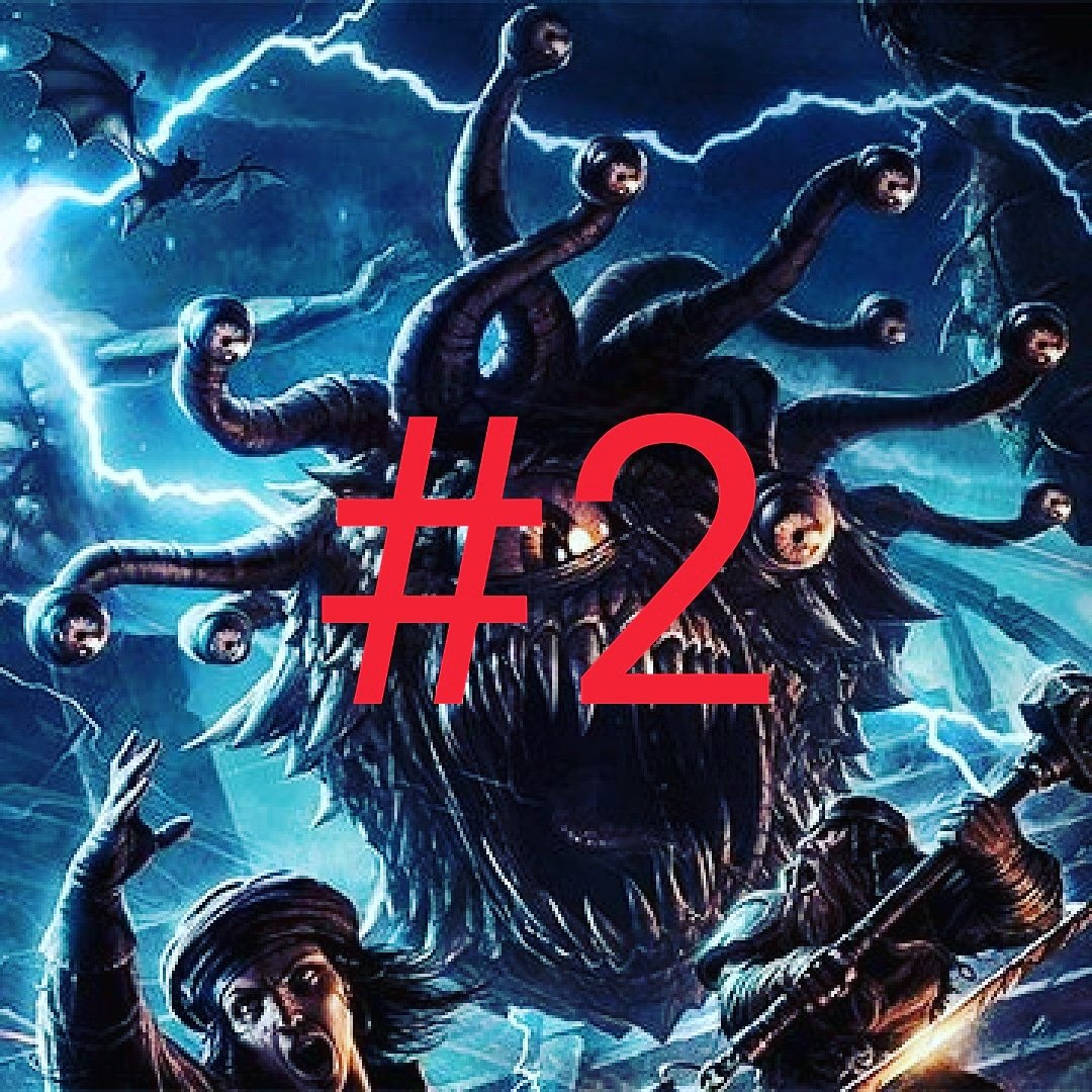 1st Year's Top 5 Episodes List‼  At Number 2 is our episode: Dungeons and Dragon episode!   BEHOLD THIS EPISODE!  Bonus: unreleased episode of our campaign will be available soon!   https://t.co/NSawiR82Hu   #podcast #podcasting #top5 #dnd #dungeonsanddragons #d&d #beholder https://t.co/7LZryDNT3z