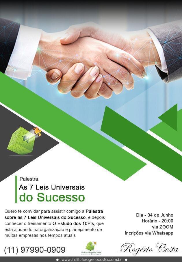 Do meu amigo e mentor Rogério Costa.  Chama ele no Zap e participe. #sucesso #business