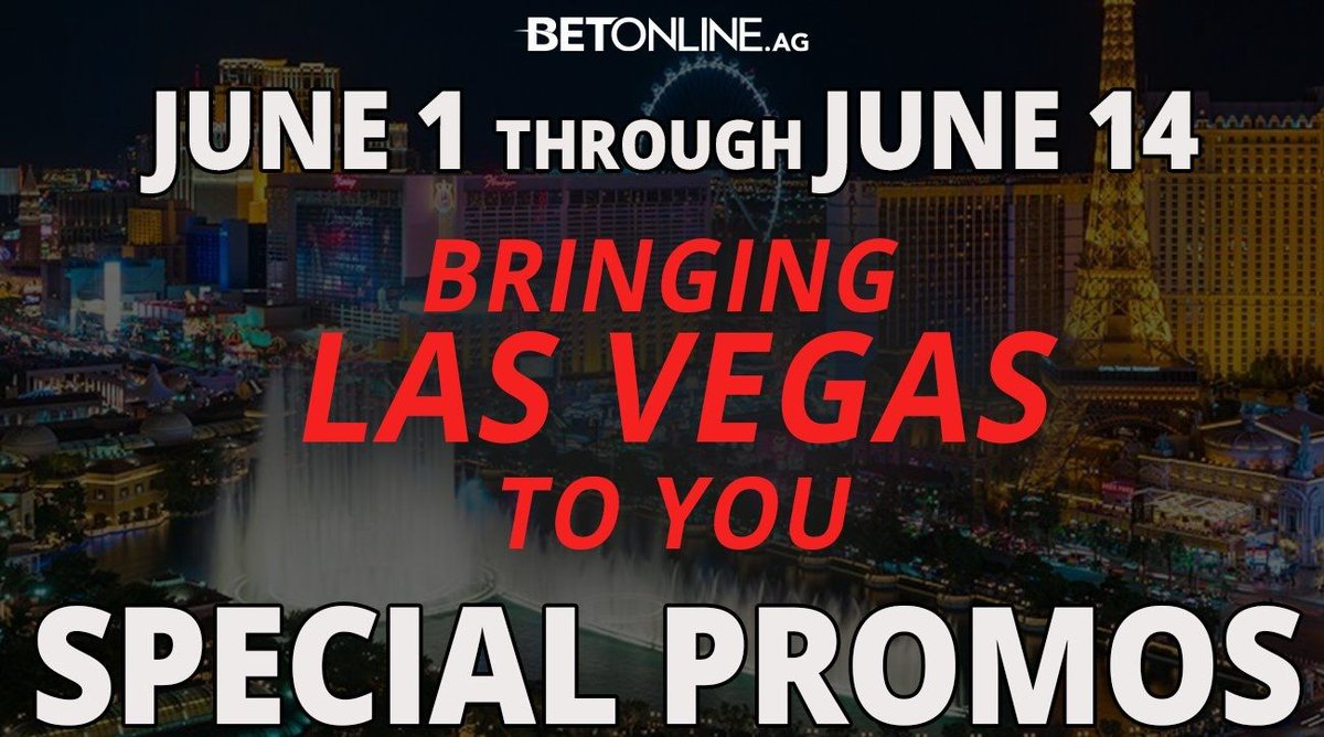 Can't get to Vegas? Don't worry.. we've got you covered. 🤑 ♠️ BetOnline.ag/Casino