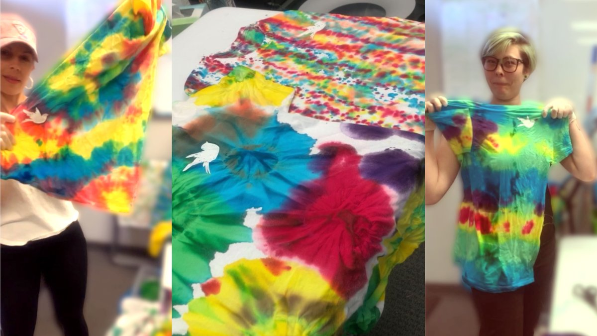Check out our new tie-dye uniform shirts that represent our support #nowmorethanever of ALL humans that deserve #equalhumanrights   What's ONE thing you can do today that will make you feel PROUD? #onelove ✌🏻   #pride #smallbusinessstrong #goinggreenhouse #greenhousecleaning #az https://t.co/eRw3diMOPK