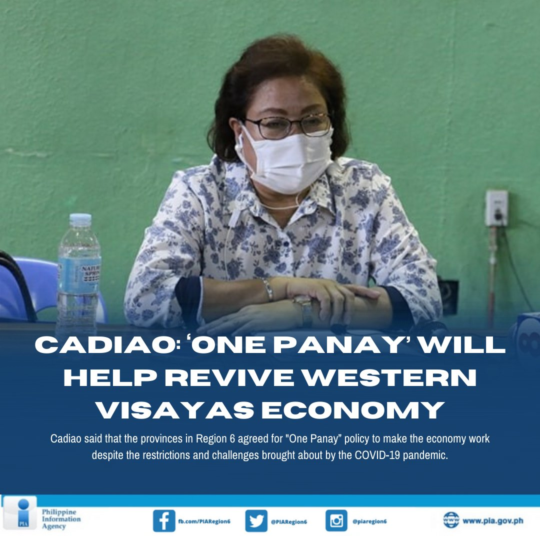 Cadiao emphasized the need to balance the efforts between fighting COVID-19 and reviving the economy of Western Visayas for the protection of the workers and of the business sectors as well.  Read full story: https://t.co/iAH7ls84Vk https://t.co/YMYh8eNfvG