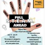 Image for the Tweet beginning: Virtual Summer Camp Registration for