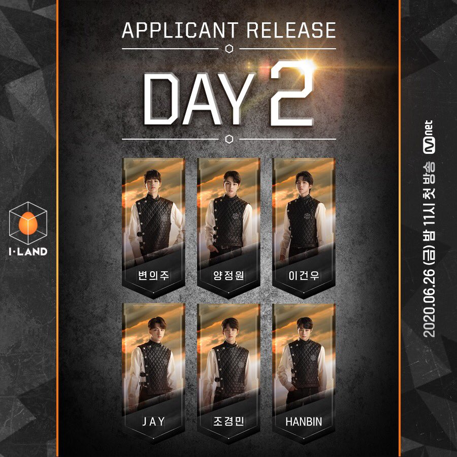 [I-LAND] 지원자 공개 DAY-2 지금 바로 @mnetiland를 CLICK! 지원자를 확인하세요 [I-LAND] Applicant Release DAY-2 CLICK @mnetiland right now! Check out the applicants! Mnet <I-LAND> 2020.06.26(FRI.) 11PM(KST) #Mnet #엠넷 #ILAND #I_LAND #아이랜드 #Applicant #I_LAND_COMING_SOON