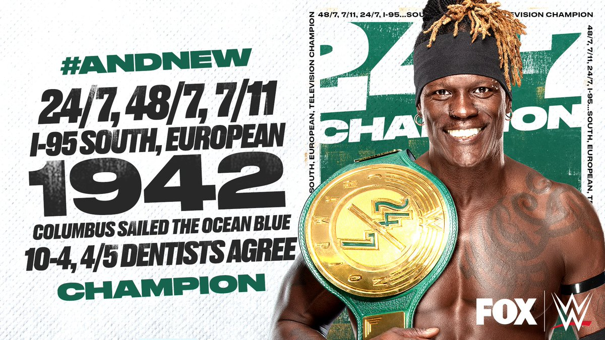 R-Truth is Your New WWE 24/7 Champion Once Again