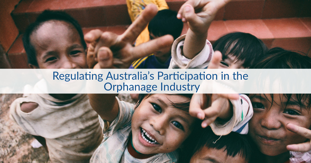 Read the complete #SAGEIndiaDigest #blog on regulating #Australia's participation in the #Orphanage Industry @ https://t.co/HJbB6UQ5Lj #Deinstitutionalisation #Policies #Strategies #SocialPolicies #ICBjournal @udayancare #Humanrights https://t.co/sbrcl67CV0