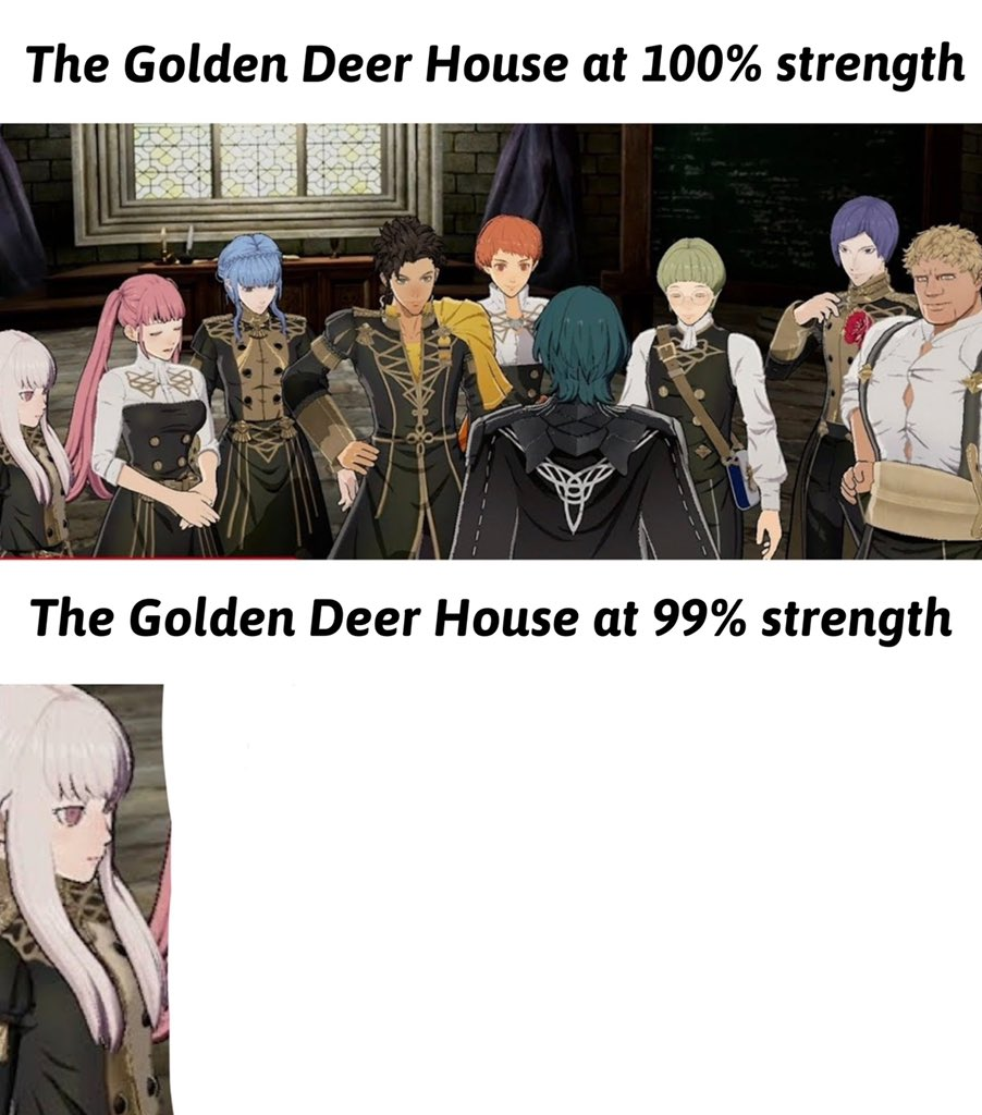 Turtleemblem On Twitter Lysithea Stans Rise Up Leave A Like And Rt For More Fire Emblem Memes Fireemblem Feheroes Threehouses Fe3h Goldendeer Lysithea Claude Https T Co Tolgvfzgia Three houses has a very detailed story with several outcomes and paths for your character to follow. fireemblem feheroes threehouses fe3h