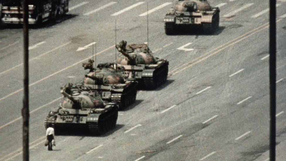 In history classes I was taught that what made America great was that we would never see Tiananmen Square in our streets. Today, I watched in horror as Donald Trump threatened to use military violence to silence American citizens. #DictatorTrump #MartialLaw2020 https://t.co/mPxnCC7FYY