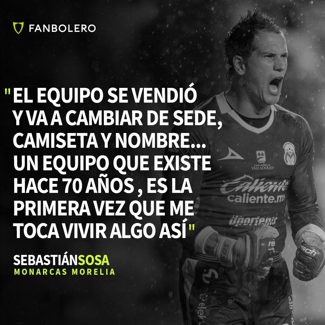 ¡INCREÍBLE! 😮⚽👑. . El arquero de Monarcas destacó que jamás había vivido algo similar en su carrera. Aceptó que Morelia ya se vendió 🇲🇽👇😭. . #Monarcas #MonarcasNoSeVa #Morelia #Futbol #MazatlanFC #LigaMX #Sosa #Mexico https://t.co/Vjv2dIVFOw