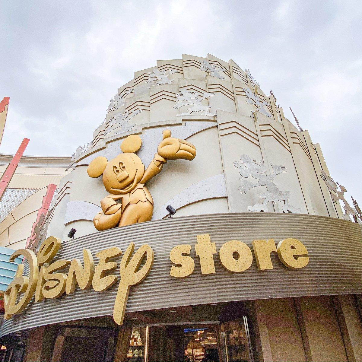「ディズニーストア」東京ディズニーリゾート店本日より営業再開です。