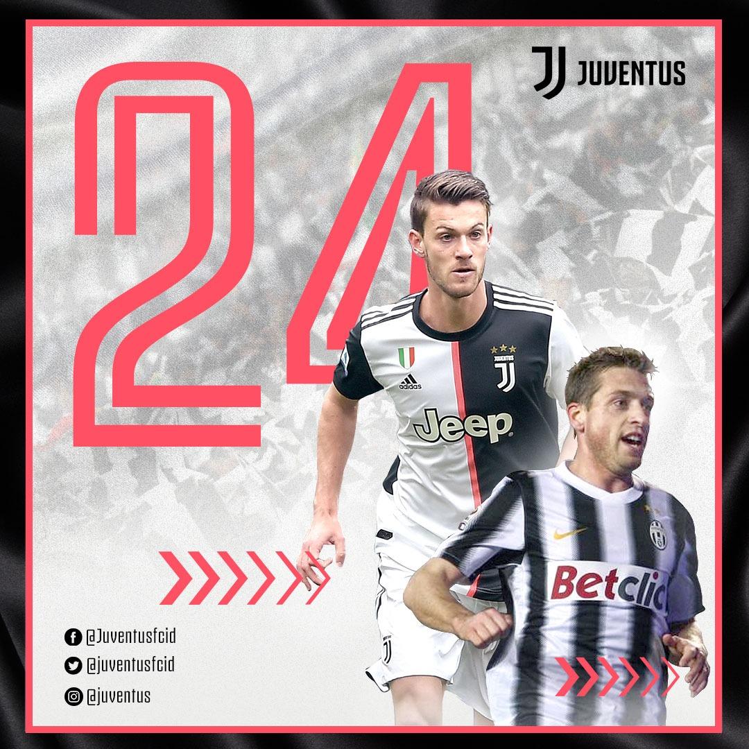 Pekan ini kami memilih nomor punggung 2️⃣4️⃣! 🤙  Pernah dikenakan oleh Emanuele Giaccherini selama dua musim, kini nomor tersebut jadi milik Daniele Rugani. 💪  Apa harapan kalian untuk bek sentral Bianconeri ini? 😊  #TheNumbers https://t.co/sebN2gnvYc