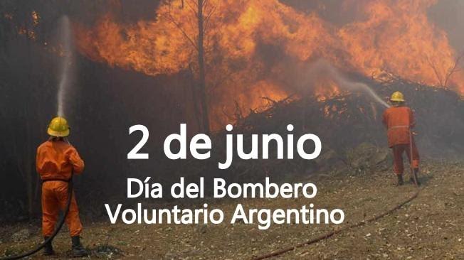 🇦🇷#Argentina🇦🇷  🚒 Hoy es el #DiaDelBomberoVoluntario. Se celebra en honor a la fundación del primer cuerpo de bomberos voluntarios de Argentina en el barrio porteño de #LaBoca.  Un gran saludo y reconocimiento a todos ellos 🚒 👏🏻👏🏻 #Chubut #Trelew #PuertoMadryn #Dolavon #Esquel https://t.co/lMOIcpLYi9