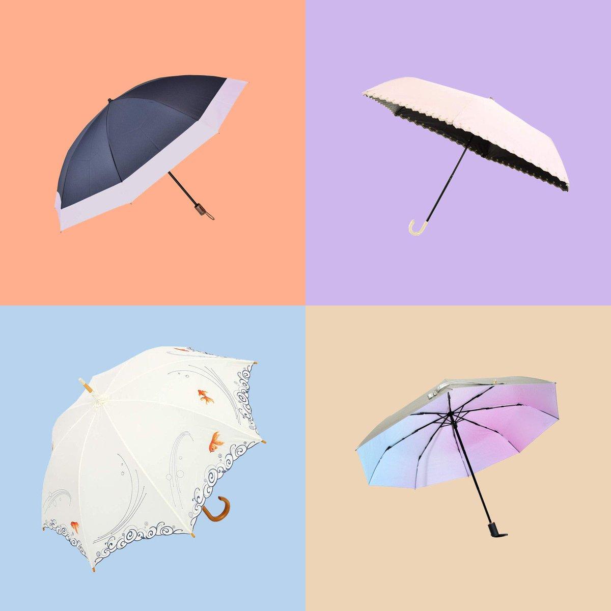 夏本番前に手に入れたい、おすすめの折りたたみ日傘8選
