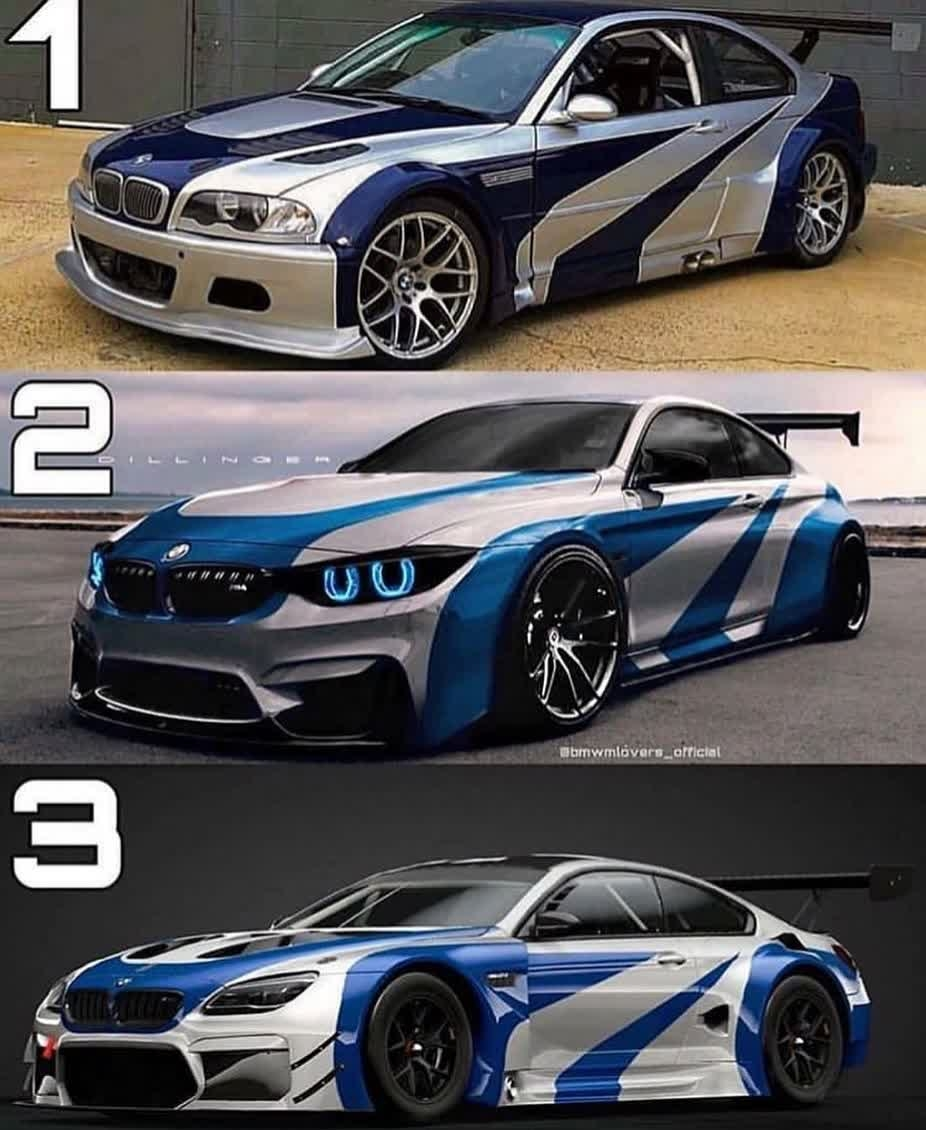 1,2 or 3 ? Via @bmwmlovers_official https://t.co/wSDxEHeo4N