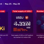 Image for the Tweet beginning: #TRONchievement May 25-May 29  ✅#TRX is