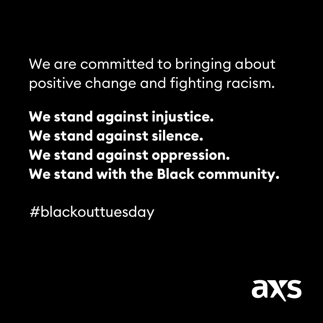 We are committed to bringing about positive change and fighting racism.  We will stand against injustice. We will stand against silence. We will stand against oppression. We will stand with the Black community. #BlackOutTuesday https://t.co/ONwKcQtXEi