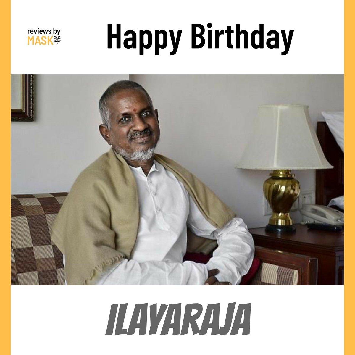 Happy B'day Ilayaraja#hbdilayaraja #happybirthdayilayaraja #ilayaraja #mohanlal #mammootty #tamilmovie #tamil #kollywood #tamilcinema #tamilsong #thalapathy #tamilstatus #tamilactress #tamilbgm #tamilmusic #love #tamilsongs #tamilan #tamillove #kollywoodcinema #tamillovestapic.twitter.com/XQ26EDGjLy