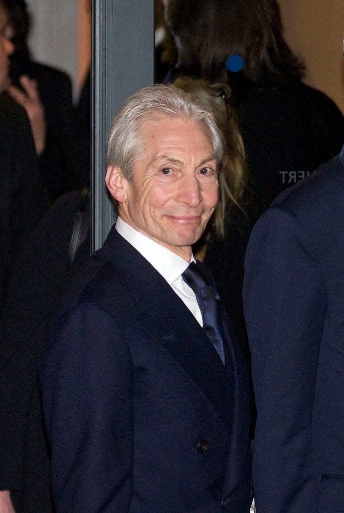 """1972 Exile recordings/France, Mick Jagger calls Charlie Watts at 5am: """"Where's my drummer?"""" Charlie arrives in 20 min, brushes past Keef, grabs Mick & punches him in the face! Charlie: """"NEVER call me YOUR drummer again."""" Its Charlie's B-Day (married to the same woman for 54 yrs)! <br>http://pic.twitter.com/8CjCjQgvb4"""