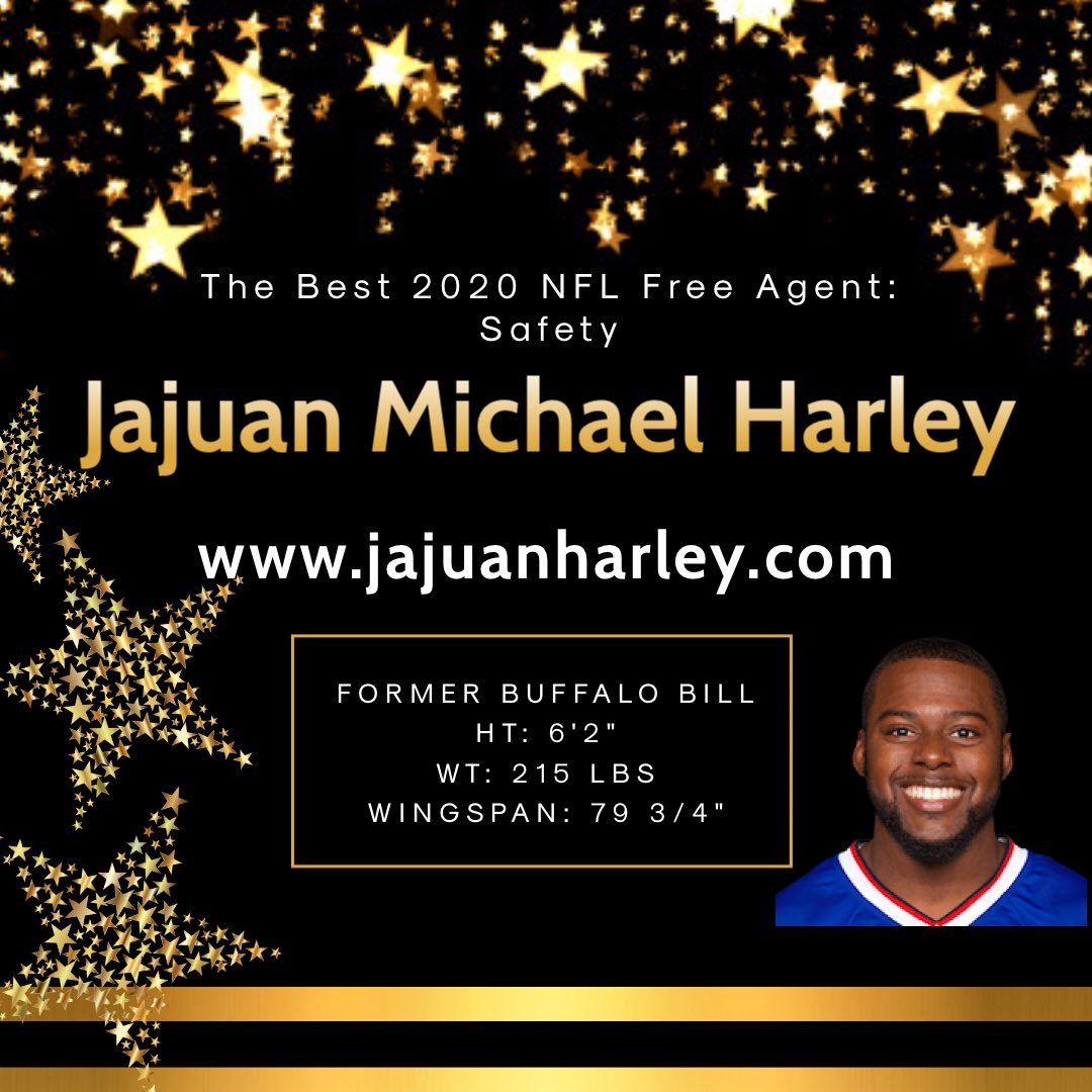 "CHECKOUT WEBSITE ❗️  https://t.co/2553C1Eczp 6'2"" 215lbs Former S @BuffaloBills Current @sugarskullsfb Rep @fcm_law  #jajuanharley #businessman #nflfreeagency #nfl #motivation #grind #nike #adidas #reebok #underarmour #harleydavidson #gatorade #powerade https://t.co/hkYldjUwzW"