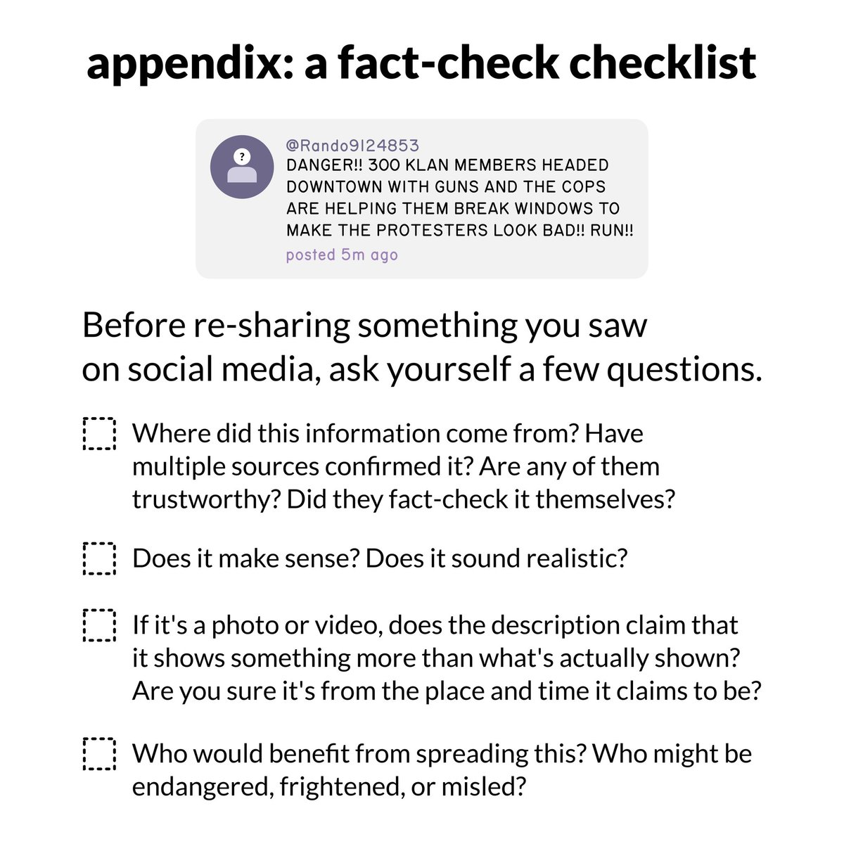 How to share information #info #intel #credibility