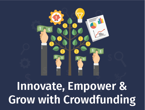 There is no better time to innovate, empower and grow but NOW! How do you think #CROWDFUNDING can help empower your business? We'd LOVE to help.   SIGN UP HERE https://crowdsourcingweek.com/vcs-crowdfunding/… #beBOLD #CrowdEconomy #Entrepreneurship #Innovation #startups #SmallBiz #Businesses #Startupspic.twitter.com/CdggyHpigf