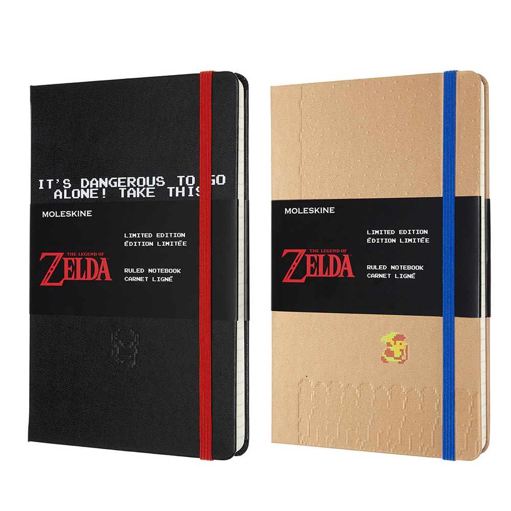 モレスキンから初代「ゼルダの伝説」をモチーフにした限定ノートブック -