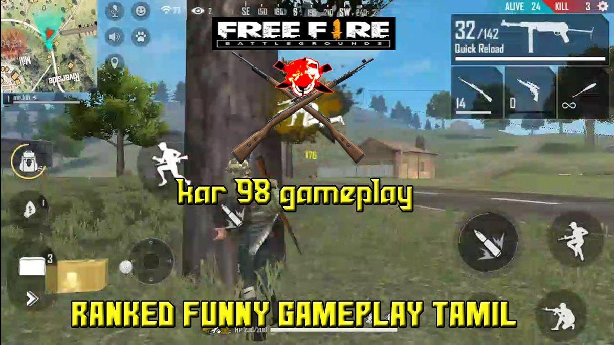 free fire kar 98 funny gfameplay https://youtu.be/T-07YTOODew #freefireindia #freefirefunny #freefirewtf pic.twitter.com/Id389zudGx
