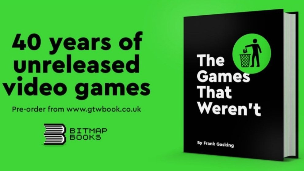 Just saw that The Games That Werent by @fgasking @bitmap_books is abailable for pre-order! gtwbook.co.uk