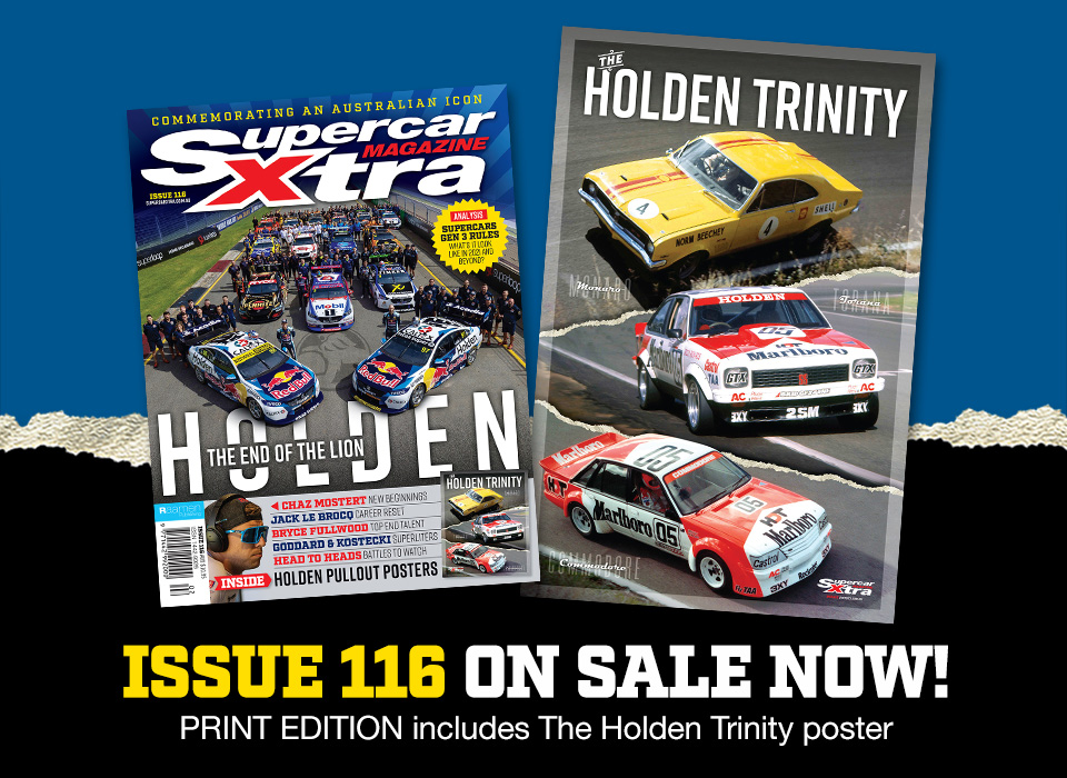 Commemorate Holden's iconic cars, the Monaro, Torana and Commodore, with this poster in @SupercarXtra issue #116: https://t.co/CNRY45Qs1D #VASC #Bathurst1000 https://t.co/OqNc6WGbTp