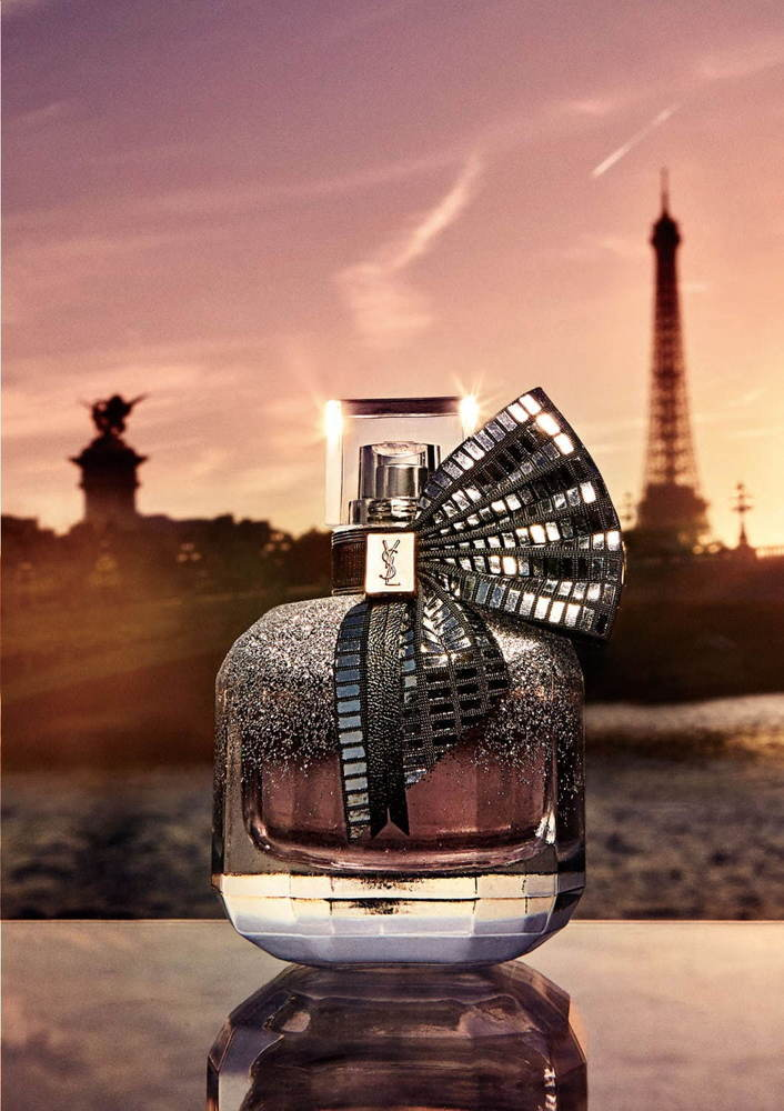 """イヴ・サンローラン""""恋愛""""がテーマの人気香水「モン パリ」""""夜のパリ""""イメージの限定デザインに -"""