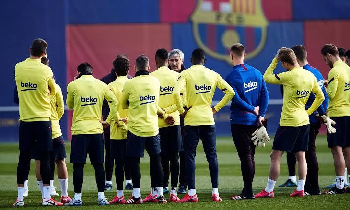 ❗️Breaking: Seven positives for COVID19 at Barça! [sport] #FCB🔵🔴