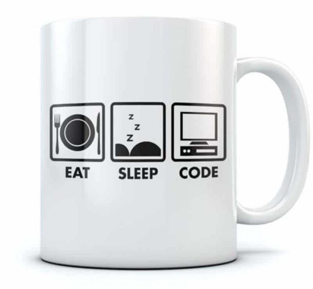 #electronic #electronics Eat Sleep Code Coffee Mug Funny Geek Gift pic.twitter.com/qxgDUoHyu4
