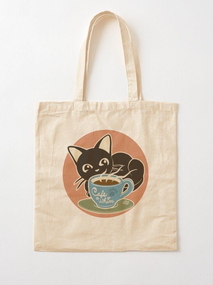 """Cafe Whim"" Tote Bag by BATKEI 