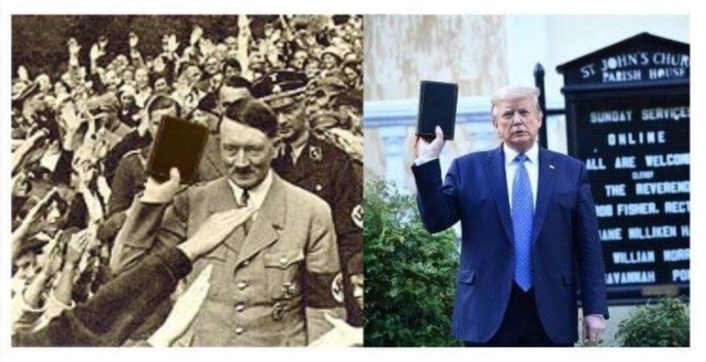 Fuck you, Donald Trump uses religion like fascists #AmericaOrTrump https://t.co/nMyx0DqqZV