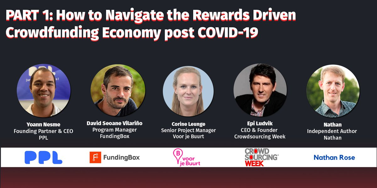 Curious about our VIRTUAL SUMMIT: #CROWDFUNDING on June 11th?   We'll be talking about the impact and possibilities of crowdfunding, empowered growth and innovation, crowdfunding in EU and why rewards crowdfunding matters.  SIGN UP HERE https://crwdwk.com/3eEC8fX #businesses #beBOLD pic.twitter.com/v45emtqF8P