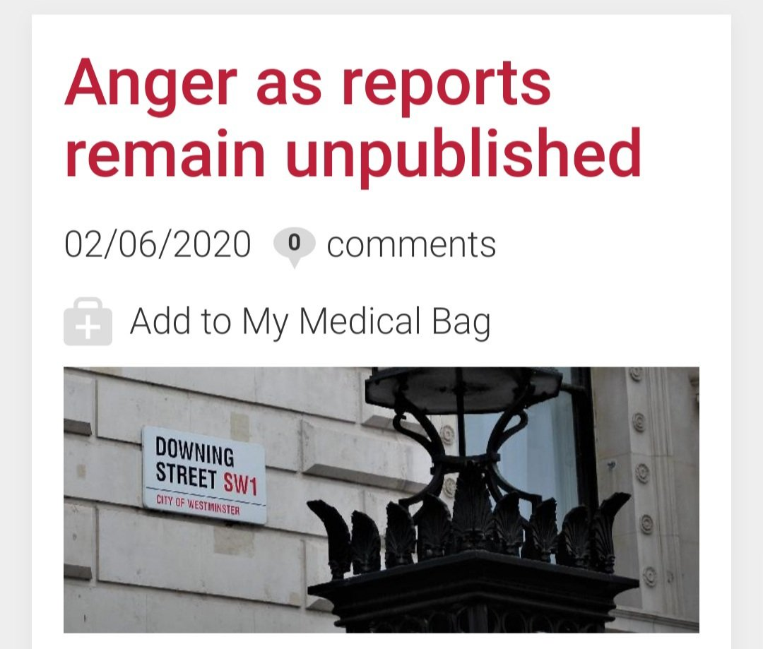 In further delaying the publication of the report, citing global issues such as racial tensions in the USA, the government is signalling how out of touch it is with the concerns of the BAME community. DAUK chair Dr Rinesh Parmar in @Doctors_net_uk news.doctors.net.uk/news/31439