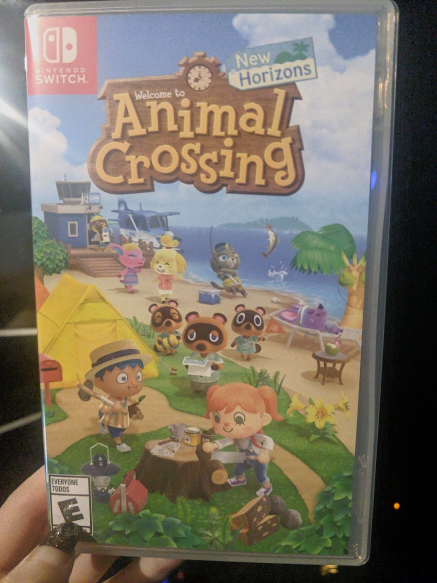 Just have to wait for my switch lite to arrive #Excited #AnimalCrossingNewHorizons #animalcrossingpic.twitter.com/9s1i30WLGI