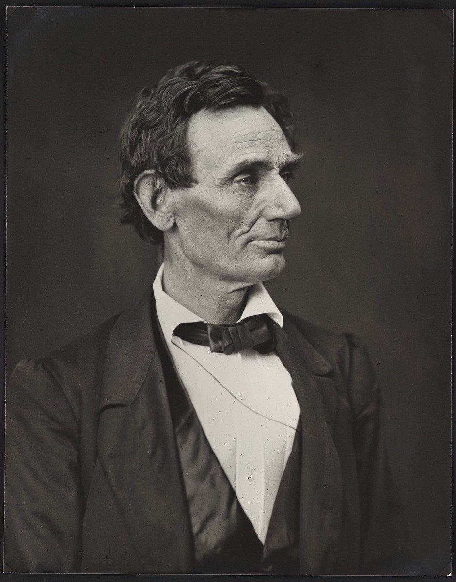 Lincoln 160 years ago tomorrow:
