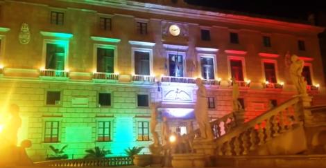 Anche Palermo festeggia il 2 giugno, palazzi istituzionali illuminati dal tricolore - https://t.co/9sQPRgX9X7 #blogsicilianotizie
