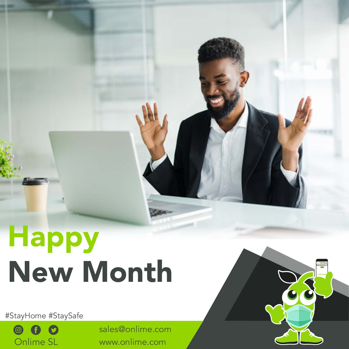 Happy New Month #SaloneTwitter! May God cure all your wounds and take you out of all your problems. Remain blessed and #StaySafe  #Freetown #SierraLeone #StayHome https://t.co/Mpy6BLPn8E