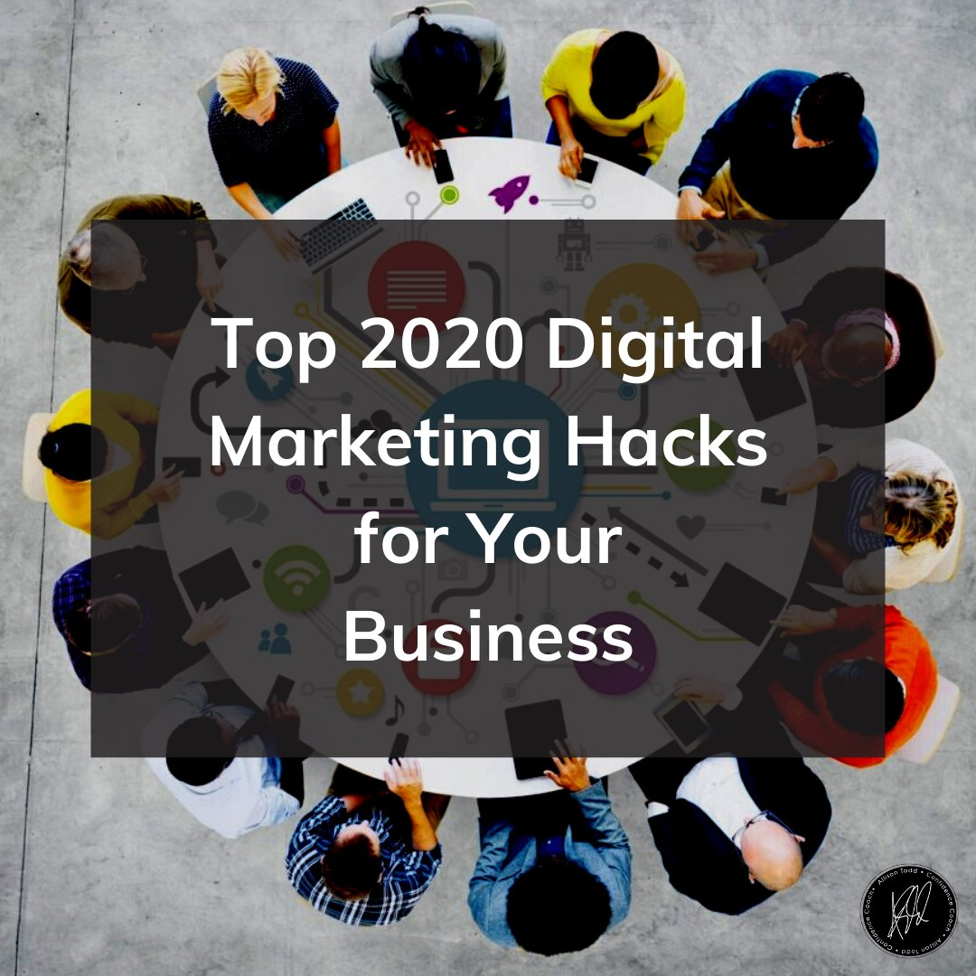 Consumer habits keep changing. How can you identify the digital marketing hacks for your business in order to attract your consumer? Head to the link in bio to read more.  ⁣ #DigitalMarketingHacks #targetedaudience #AllisonTodd #confidencecoach #Learn2Love #confidenceiskey pic.twitter.com/8x5v9JpTQW