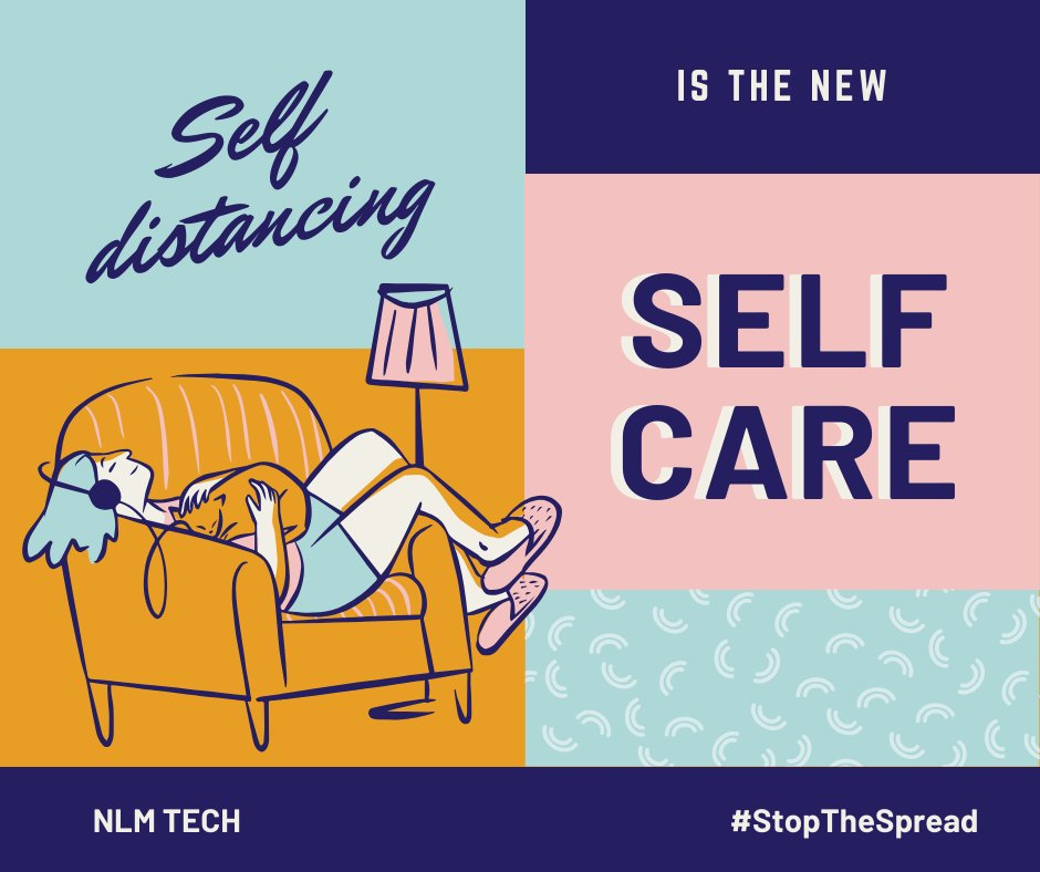 Good morning, Twitter!   Let's be mindful of others during this pandemic. Stay safe, sanitize, and practice self-distancing.   #StopTheSpread #NLMtechpic.twitter.com/qUrBja35Fj