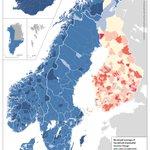Image for the Tweet beginning: Katsokaa tätä karttaa ja antakaa